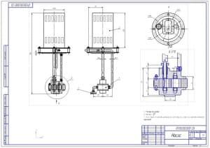 2.Сборочный чертеж насоса конструкции (формат А2)