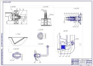 2.Общий вид конструкции – 2 лист (формат А1)