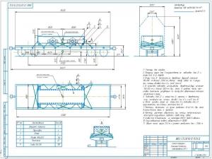 3.Схема погрузки внешней тележки электровоза ЭЛ-1 А2