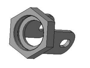 деталировки гайки в 3D формате