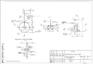 3.Схемы сети В1, разрез 1-1 наружных сетей водопровода (формат А3)