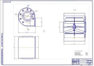 3.СБ вентилятора (формат А1) со следующими техническими параметрами