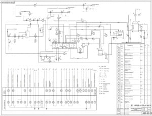 Функциональная схема автоматизации (формат А1)