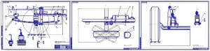 3.Передняя подвеска в сборе автомобиля МАЗ-5340 (формат 3хА1): Момент затяжки гайки 30 28-36 Н*м