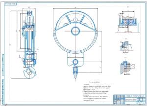 3.Крюковая подвеска крана в сборе А1 с техтребованиями