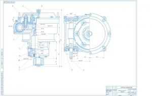 3.Редуктор механизма поворота в сборе на формате А1