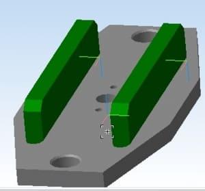 38.3D-моделирование верхней плиты пресса