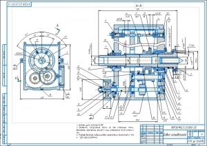 3.Сборочный чертеж бабки шпиндельной А1