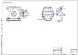 4.Чертеж общего вида крейцкопфа в масштабе 1:1, с указанием величин конструкции (формат А2)