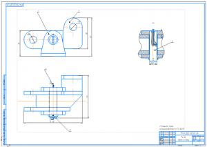 4.Сборочный чертеж рычага А1