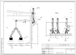 4.Чертеж разреза Б-Б и вида В с проставлением размерности (формат А3)