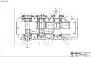 4.Сборочный чертеж редуктора 2 лист (формат А1)