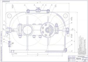 4.Сборочный чертеж лист 2 (формат А1)