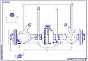 4.Задняя подвеска в сборе – 2ой лист (формат А1)