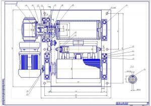 4.Приводной механизм в сборе (формат А1)
