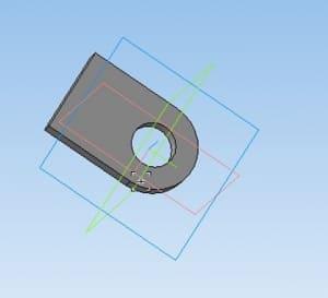 4.3D-модель детали ухо