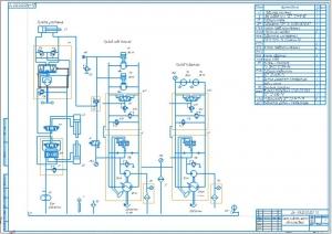 4.Схема гидравлическая автогрейдера (А1)
