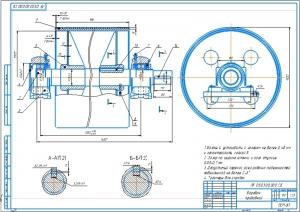 4.Сборочный чертеж барабана приводного А2