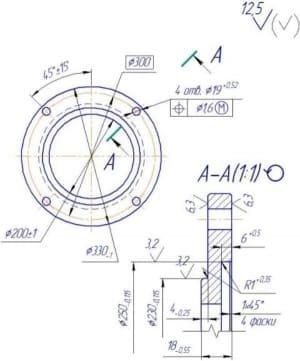 Сборочный чертеж с разработкой рабочих деталей механизма передвижения мостового крана
