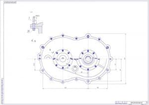 5.Сборочный чертеж редуктора вертолета (формат А1)