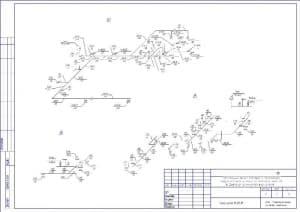 5.Чертеж схем В3, В5, В6 (формат А3)