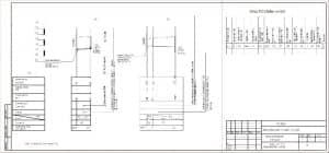 5.Профили сетей В1.К1 и таблицы водопроводных колодцев (формат А3)