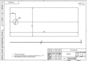 55.Чертеж деталировки стенки массой 4.4, в масштабе 1:2.5, с указанными размерами для справок и с техническими требованиями: предельные неуказанные отклонения размеров Н14, h14, +-t2/2, рекомендуется изготовить лазерной резкой (формат А3)