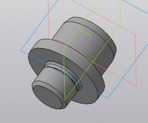 5.3D-модель пальца D30