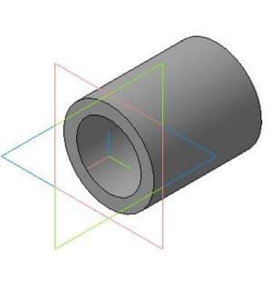 6.Деталировочный чертеж втулки по нижнюю звездочку в 3D формате