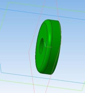 6.3D-модель втулки