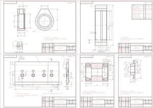 Набор сборочных и деталировочных чертежей рабочего оборудования бульдозера
