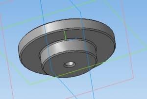 6.Седло клапана в 3D