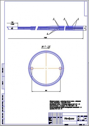 6.Сборочный чертеж мембраны на А2