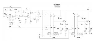 6.Схема электрическая принципиальная, реле поворотов