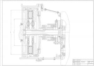 8.Чертеж СБ сцепления с указанными техническими размерами (формат А1)