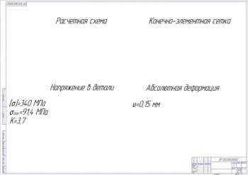 10.Чертеж прочностного расчета (формат А1)