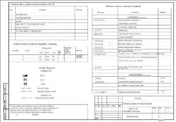 1.Общие данные наружных сетей водопровода и канализации гаража 470 (мойки) ГСК «Дружба» (начало) с приведенными условными обозначениями (формат А3)