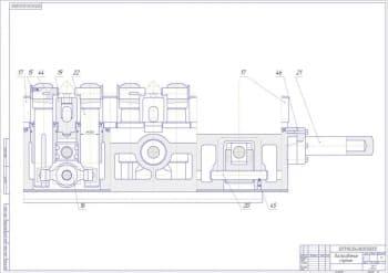 11.Чертеж сборочный приспособления спутник в масштабе 1:1, с указанием всех деталей (формат А1)