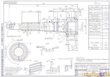 Чертежи автоматической линии механической обработки вала КПП