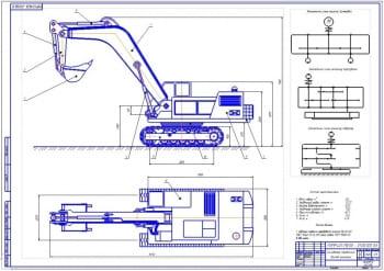 1.Общий вид гидравлического экскаватора (формат А1)