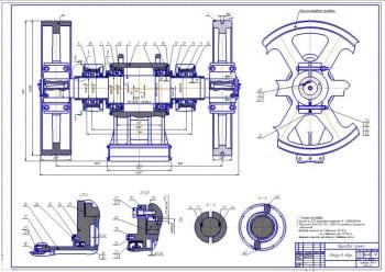 Чертежи бетоносмесителя С-543