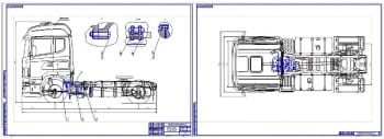 Чертежи седельного тягача Scania R440