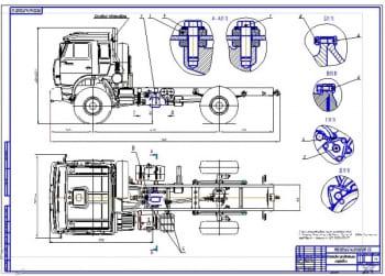 Чертежи автомобиля КамАЗ-4326