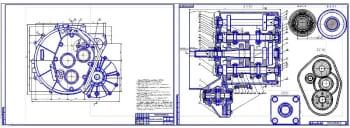 Чертежи коробки передач автомобиля Лада X-Ray