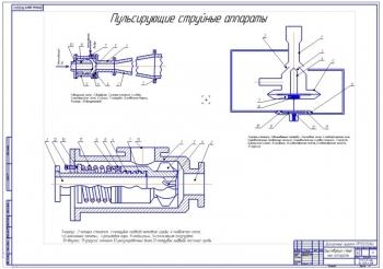 Существующие конструкции пульсирующих струйных аппаратов