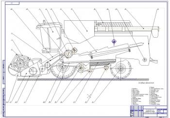 Модернизация зерноуборочного комбайна КЗС 1218 Полесье