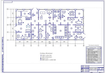 План мастерской с годовой программой 100 тракторов МТЗ-80/82 и поточно-узловым методом