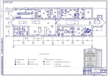 План ремонтной мастерской для сельскохозяйственного предприятия