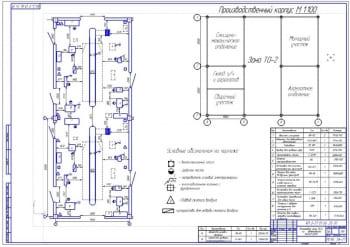 Зона технического обслуживания ТО-2 автомобилей КамАЗ-5320