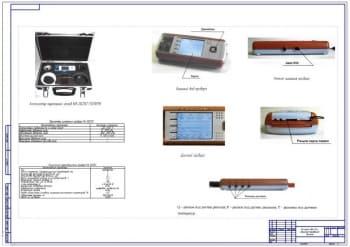 Устройство для диагностирования дизеля - измерения параметров картерных газов